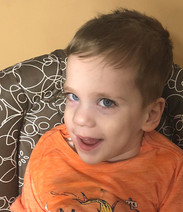 The IWL purchased an adaptive bike for this young boy from Wayne, NJ who has cerebral palsy.