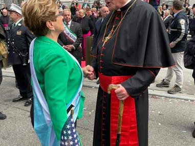 IWL at the Columbus Day Parade