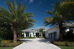 Palm Beach Model Home Exterior