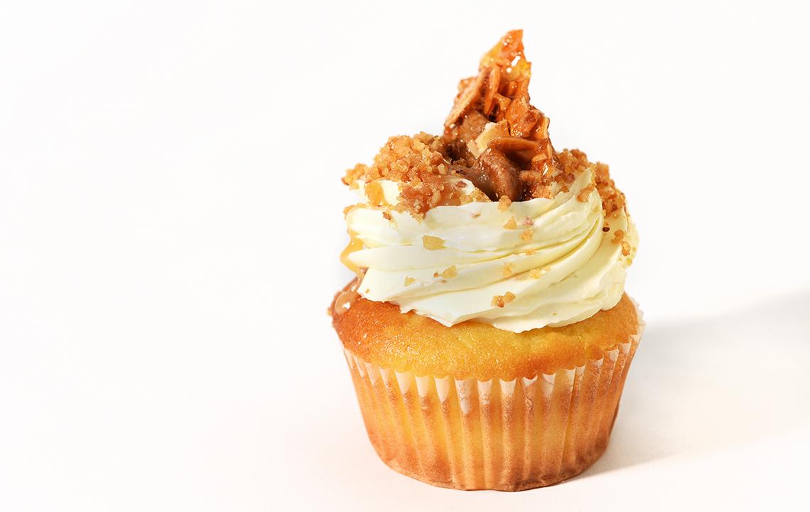 Salted Carmel Cupcake