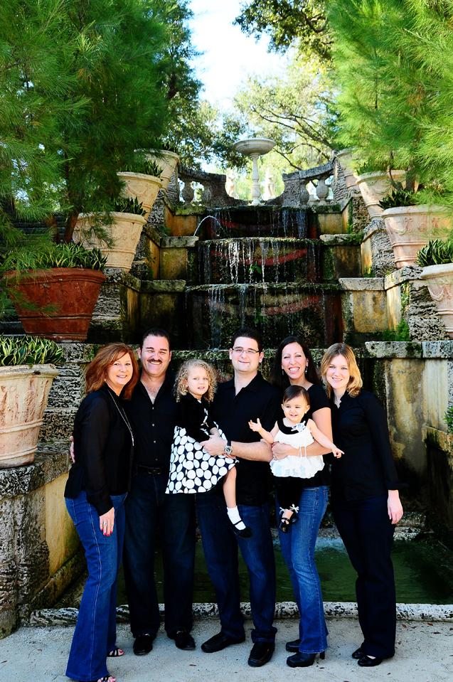 Vizcaya Family Portrait