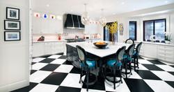 The Kitchenworks-Kitchen with Checkered