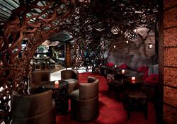Tanzy restaurant Cocoon Lounge Boca Raton Karen Hanlon Design