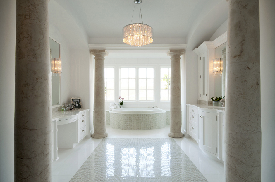 Master Bath by The Kitchenworks Ft Laude
