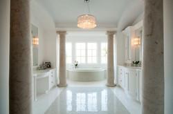 Master Bath by The Kitchenworks Ft Laude