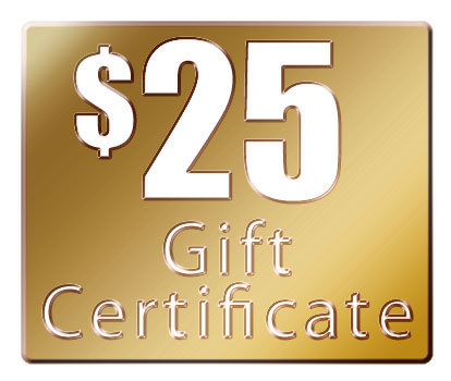 $25 Gift Certificate (1)