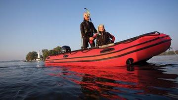 Mercury Heavy Duty Inflatable Boat