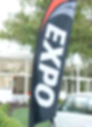 EXPO signage