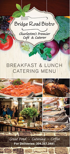 Bridge Road Bistro catering menu