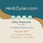Heidi Dylan business card back
