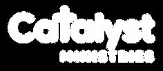Catalyst Ministries White Logo