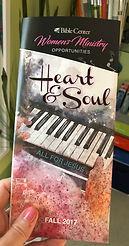 Bible Center Heart & Soul brochure