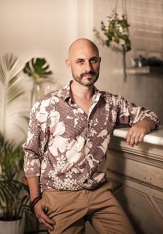 retrato de David Fernández realizado por el fotógrafo Marcel Asso en Girona