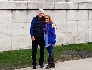 Mark Ouimet and Donna Hrozenick