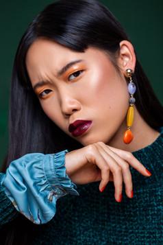Orange & green affairs/ publishes in Elegant Magazine November 2018