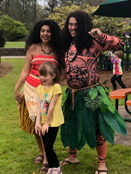 Voyager Princess & Polynesian Warrior