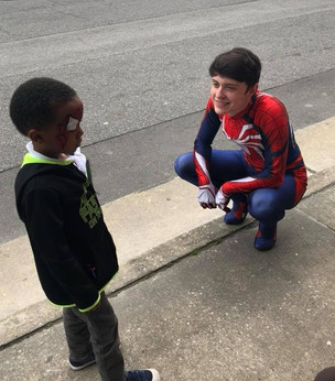 Spidey at Epic Easter 2018