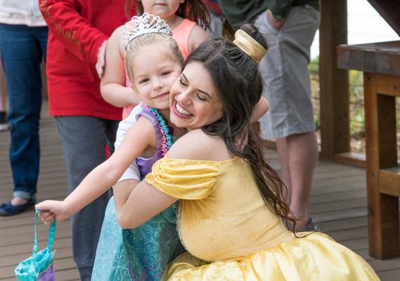 Princess hugs!
