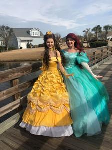 Beauty and Mermaid Princess