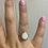 Thumbnail: Teardrop Halo Ring