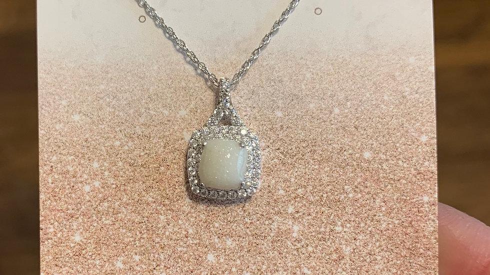 Anna - White Sapphire