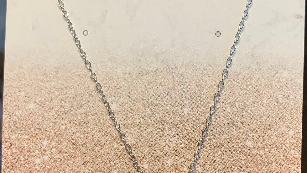 Flora - White Sapphire Necklace