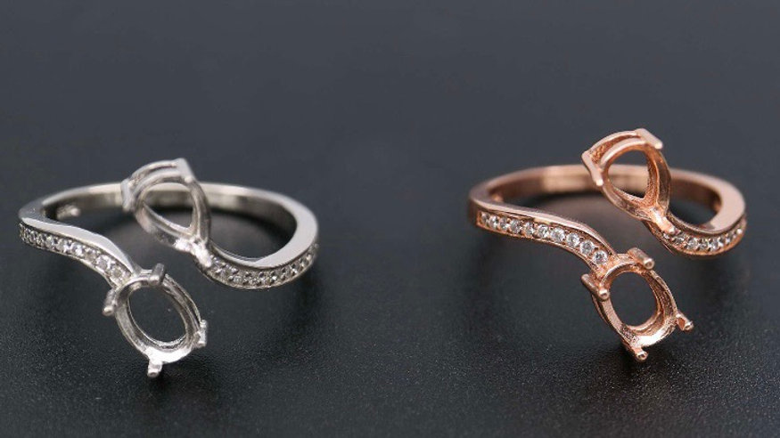 Bypass Oval & Pear Ring
