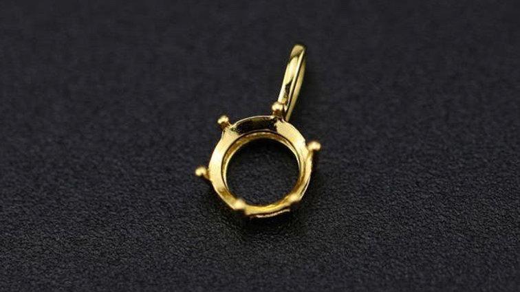 Simple Round Pendant