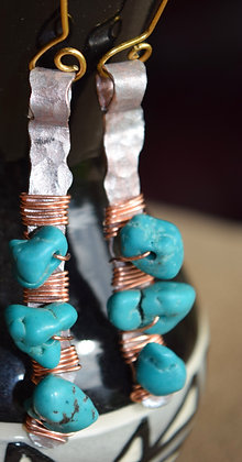 Copper and Beads