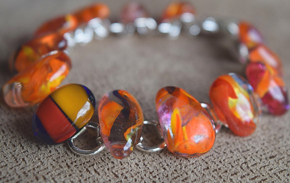 Fused Jewel Bracelet