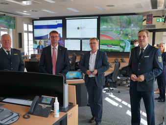 Neuer Führungsstab bei der Polizeidirektion in Leipzig