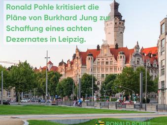 Kritik am achten Dezernat in Leipzig