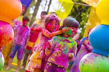 Fiesta Holi en Albacete, Cuenca máxima diversión para niños y mayores.