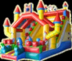 Castillo hinchable Disney grande alquiler en Albacete y Cuenca