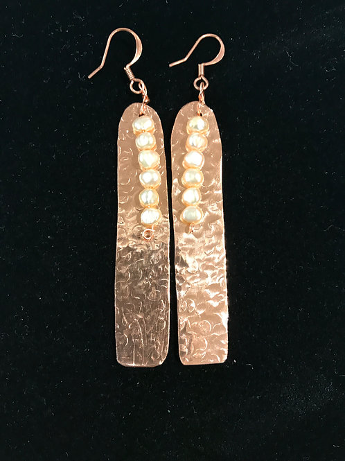 Copper and pearls