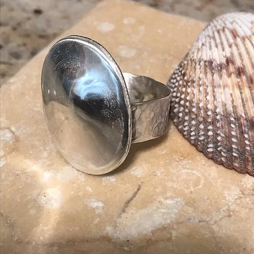 Circular sterling ring