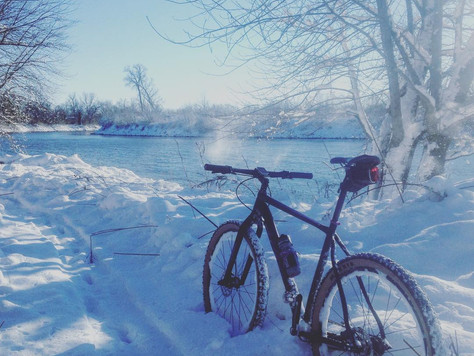 Free and Easy ways to stay warm on your bike as the temps drop!