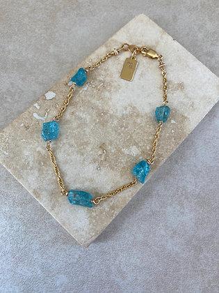 Blue Apatite Aeriella Bracelet