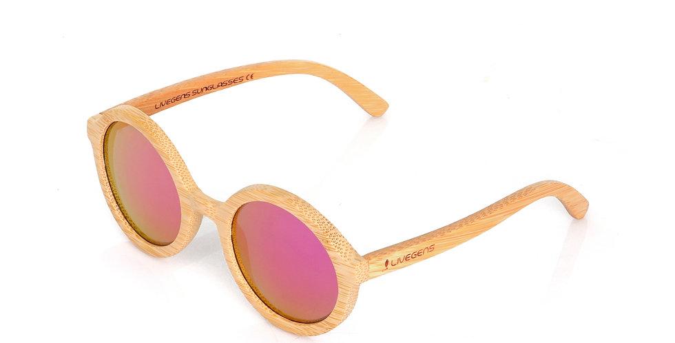Livegens Ibiza Gafas de Sol de Bambu