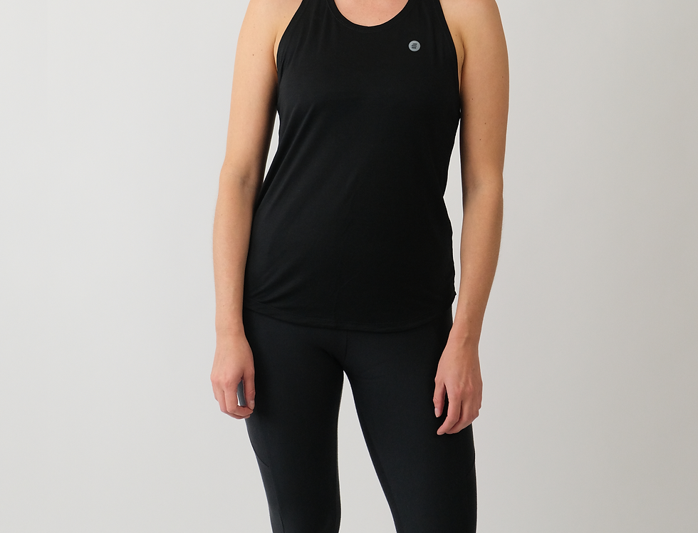 Motivational Be Better Workout Tank Top With Tencel™ In Black