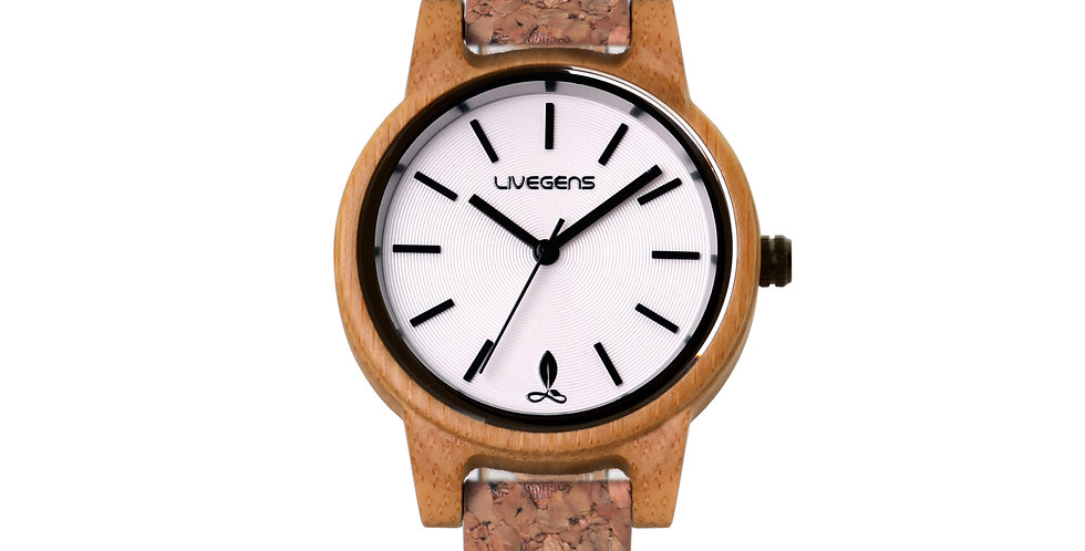 Reloj de Madera Corland   36 mm