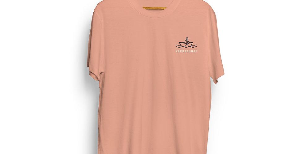 Camiseta Orgánica PERKALBOAT Sin Estampa