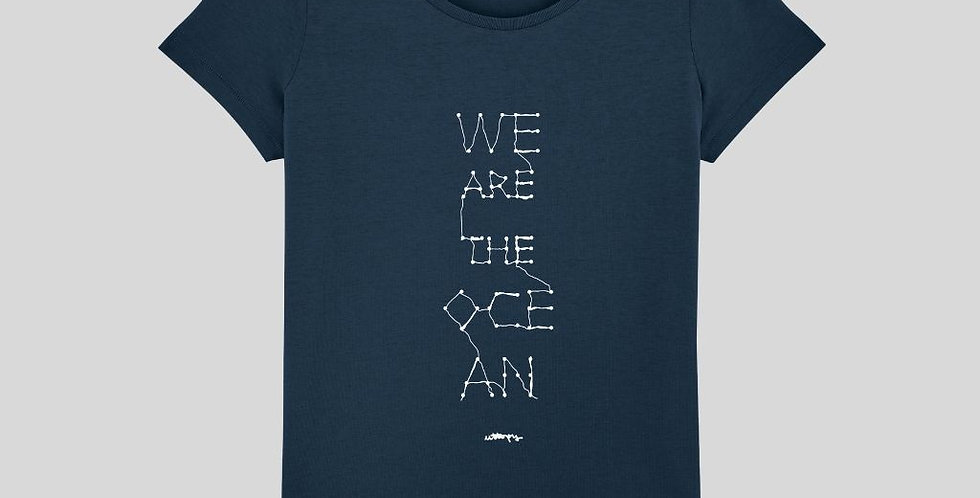 """Camiseta Mujer """"We Are The Ocean"""""""