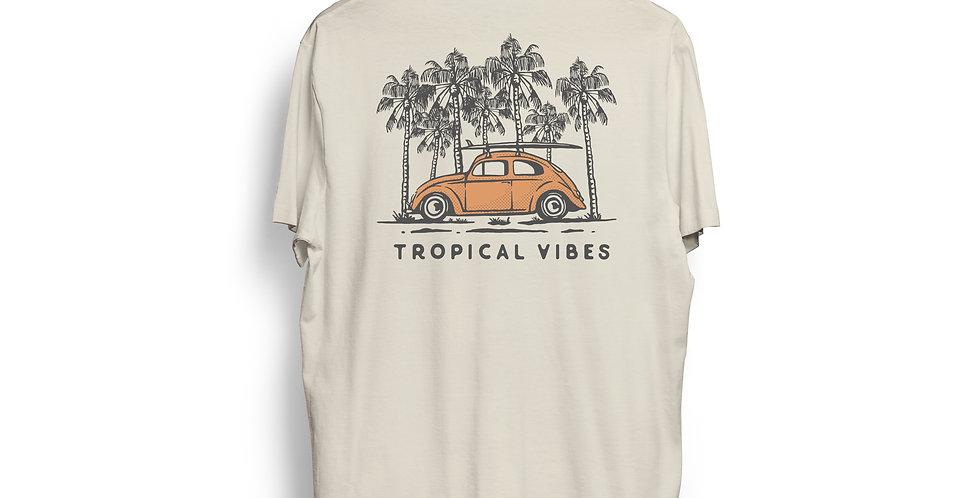 Camiseta Orgánica TROPICAL