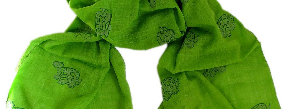 Tortoise Scarf Green