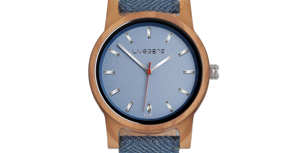 Reloj de Madera Sea Travel | 40 mm