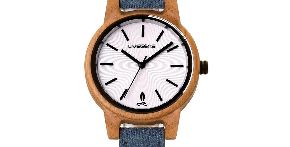 Reloj de Madera Blueland   36 mm