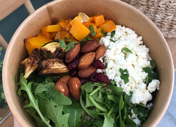 Grande salade végétarienne