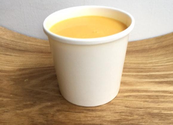 Carottes au lait de coco
