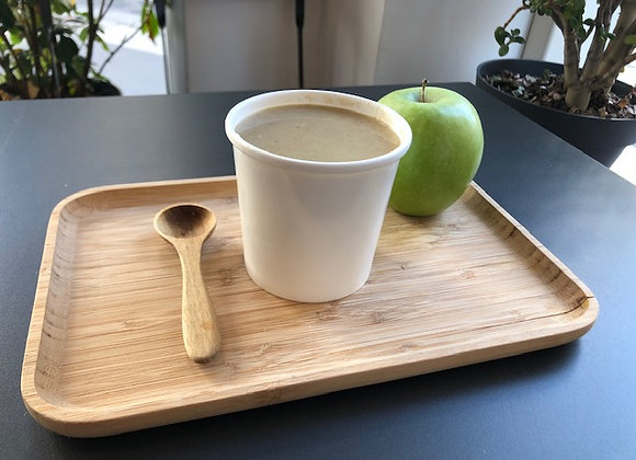 Soupe Céleri, pommes & noisettes